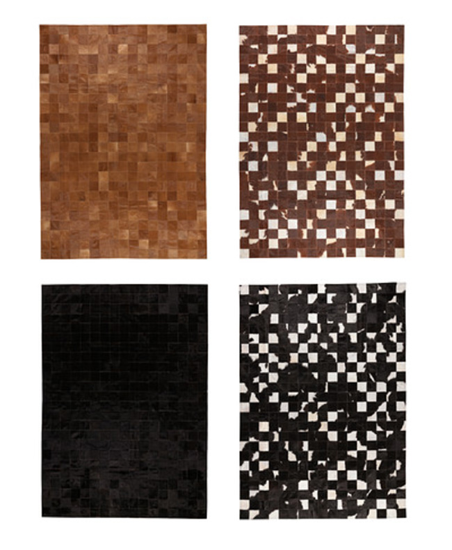 Kornum Cowhide Rugs from IKEA
