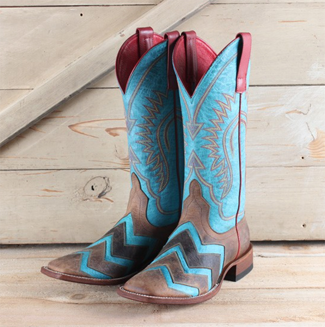 Macie Bean chevron Wave on Wave boots