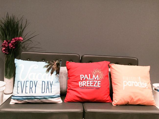 Palm Breeze Pillows