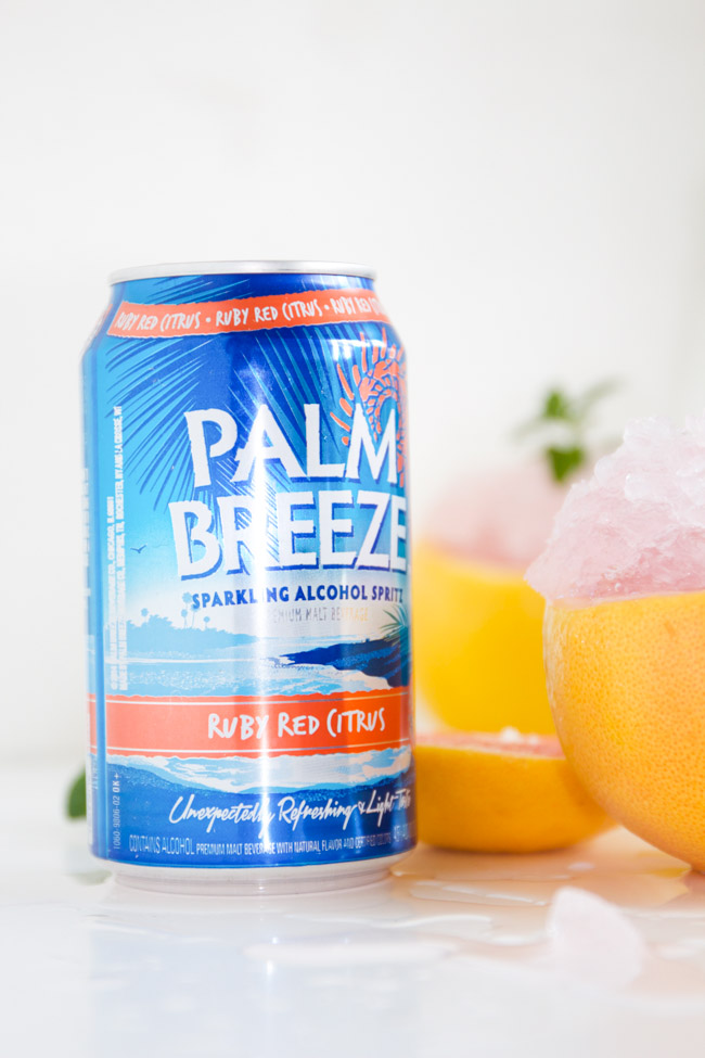 Palm Breeze Ruby Red Citrus Drink