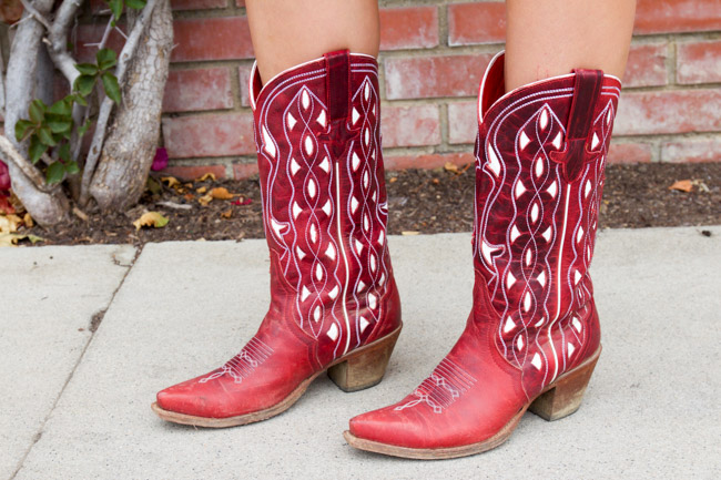 She's My Cherry Pie Macie Bean Cowgirl Boots