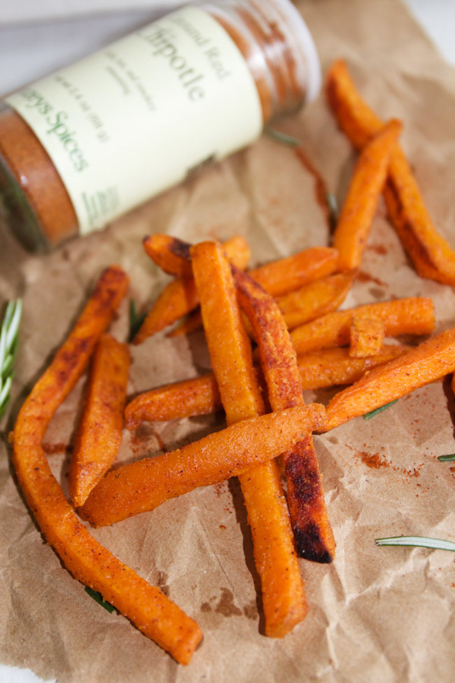 Spicy Chipotle Sweet Potato Fries