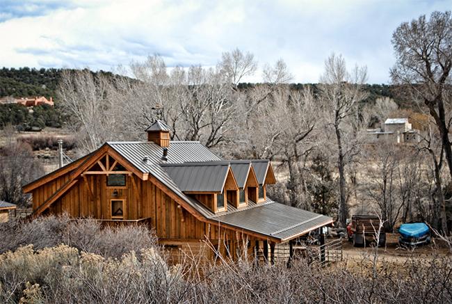 Apartment barn Taos, New Mexico