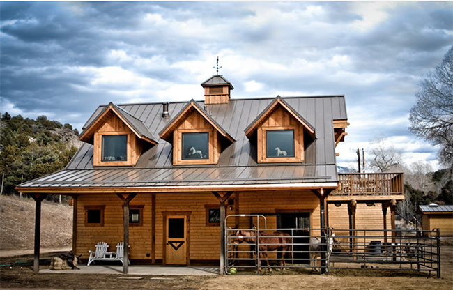 Stable Style: An Apartment Barn in Taos