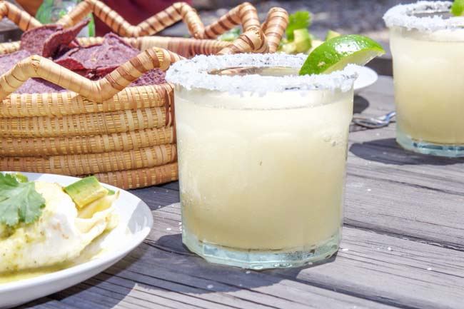 Frozen Margarita with Salt