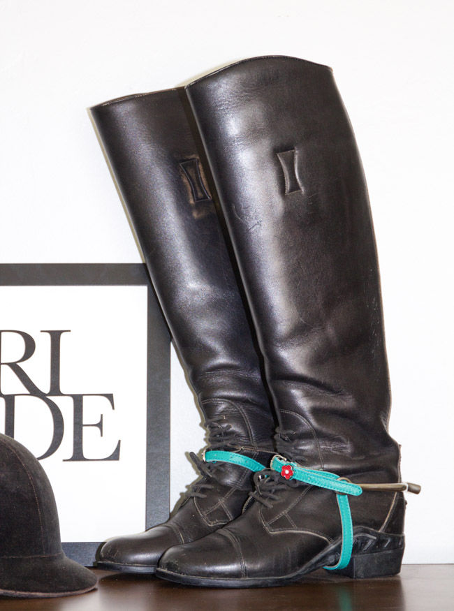 ManeJane Spur Straps, Turquoise is the new Black