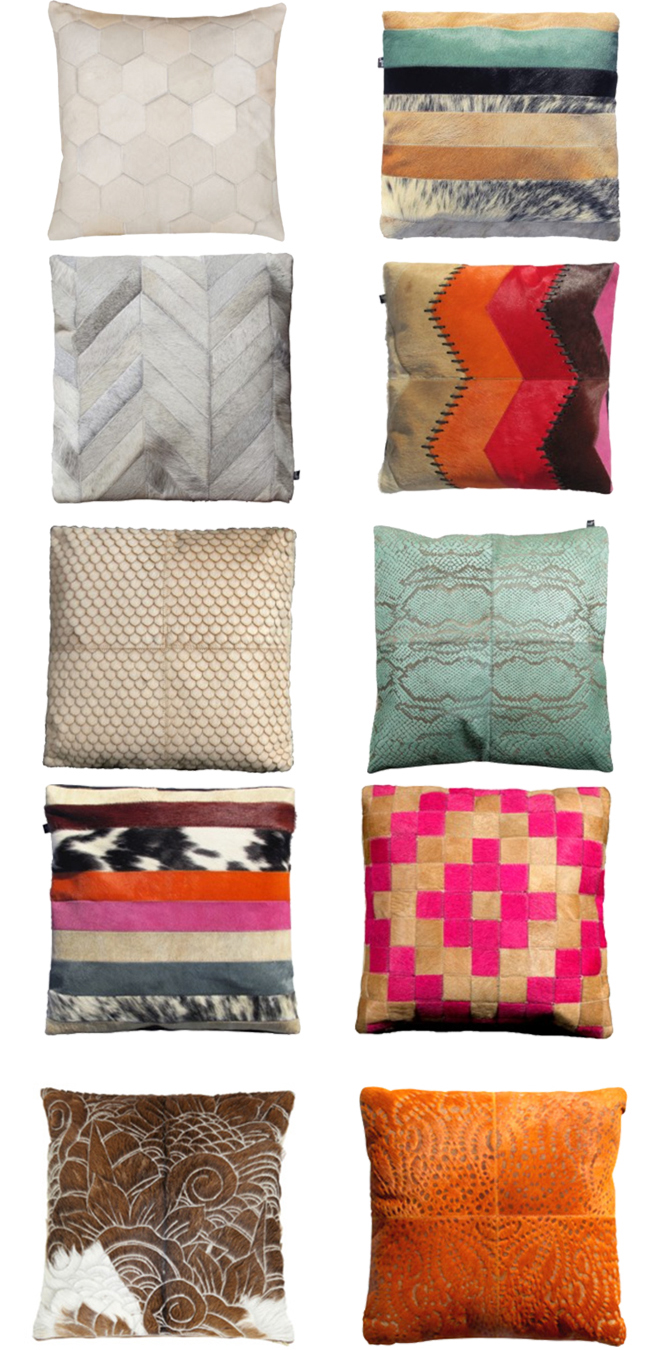 10 Colorful Pillows from Art Hide