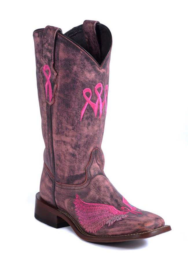 2015 Lagrange Leather Limited Edition Wings of The Journey Boots
