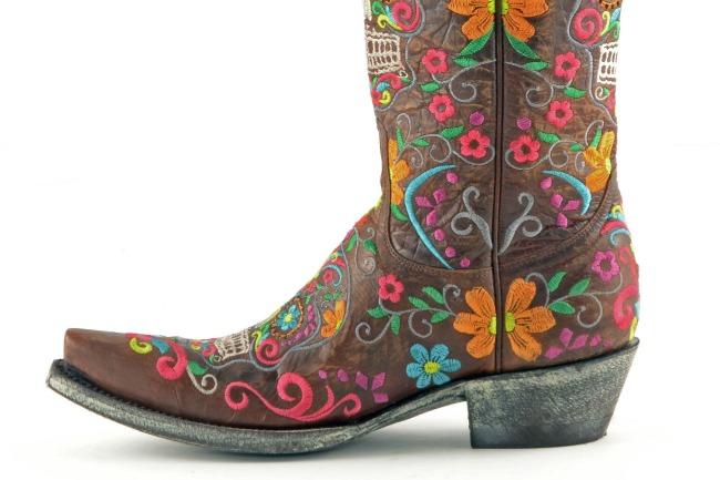 Old Gringo Klak Boots in Brass