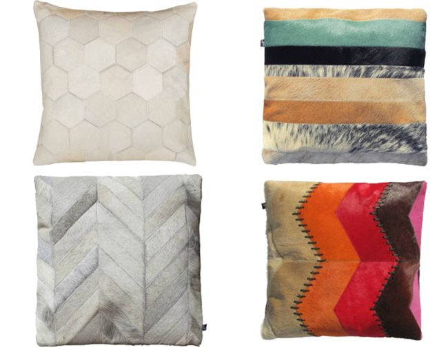 Art Hide: 10 Colorful Pillows