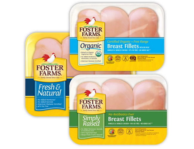 Foster Farms Chicken Breasts