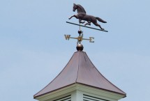 Horse Weather Vane on a Cupola