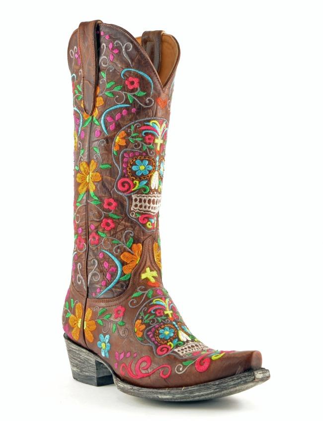 Old Gringo Klak Boots Brass