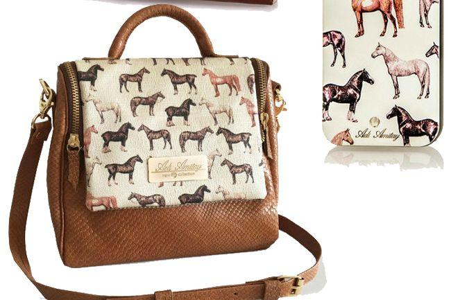 Elegant Equestrian Print Accessories