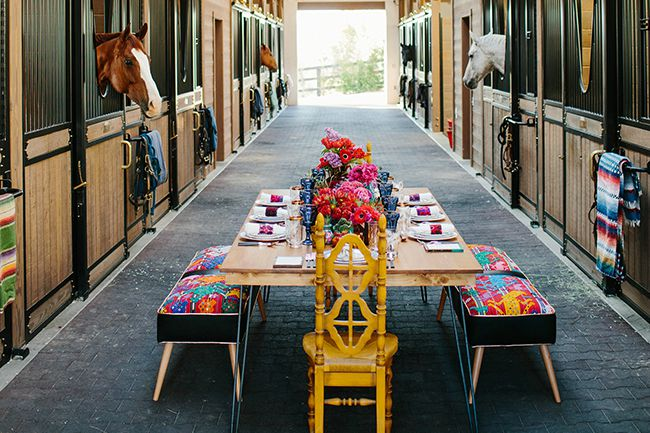 Stable Style: LuckyJack Farm Dinner Party
