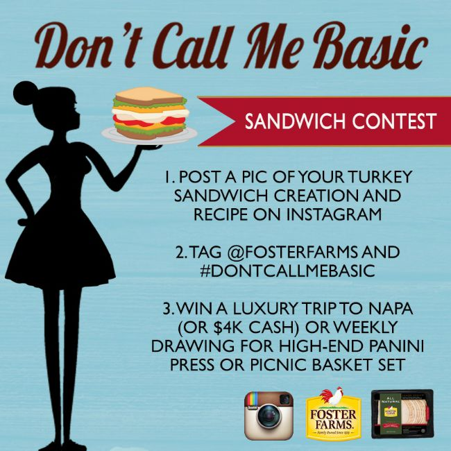 Don't Call Me Basic Foster Farms Instagram Contest