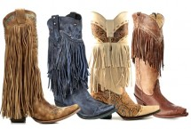 Fringe Cowboy Boot for Fall