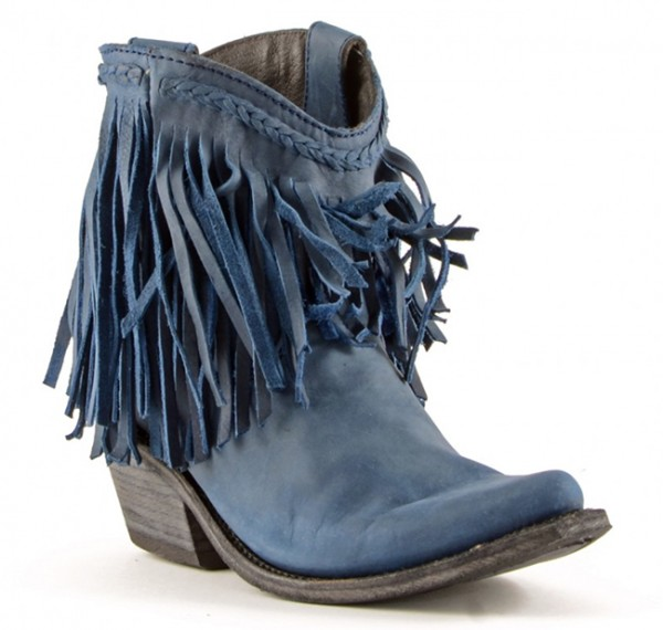 Liberty Black Vegas Russian Blue Boots