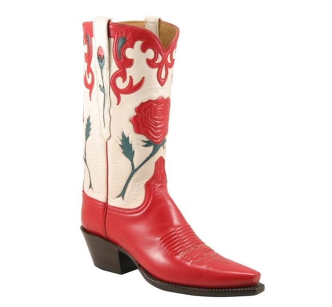 Lucchese Classics with Rose Inlays