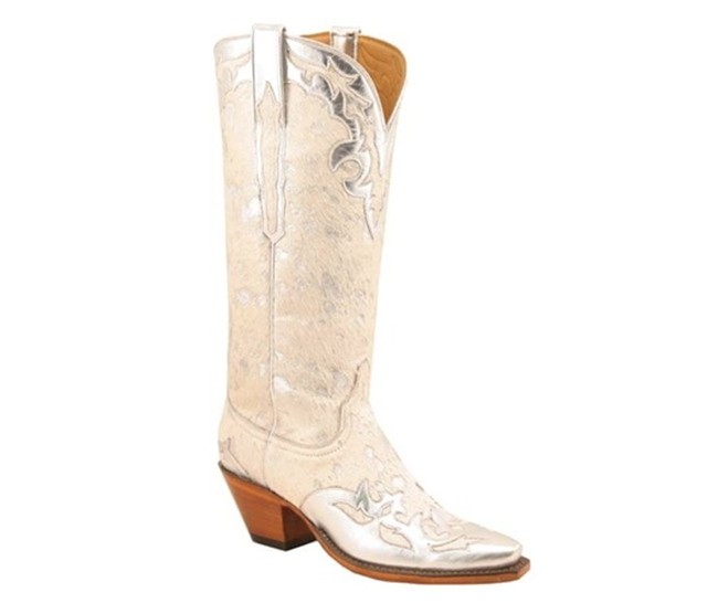 Lucchese Classics with Silver Wingtips