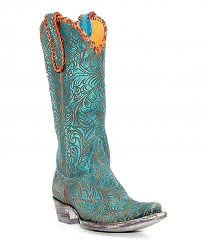 Old Gringo Turquoise Cowboy Boots