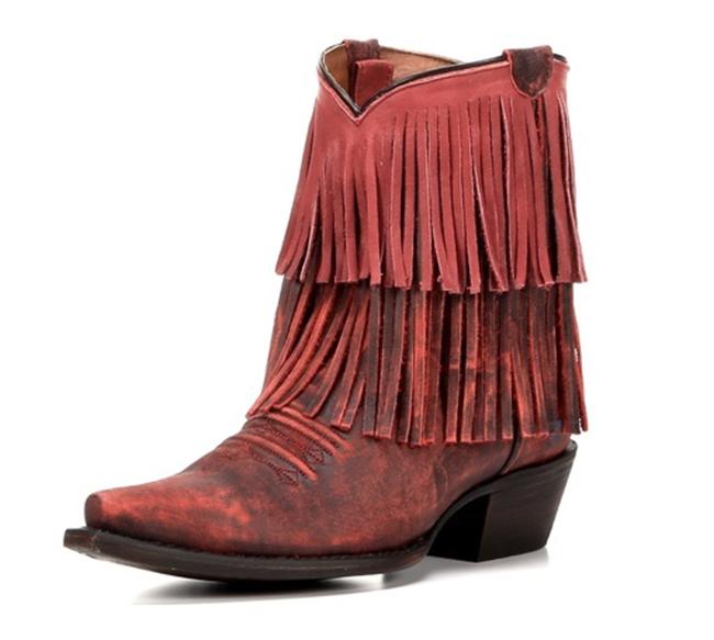 Redneck Riviera Pepper Fringe Boots