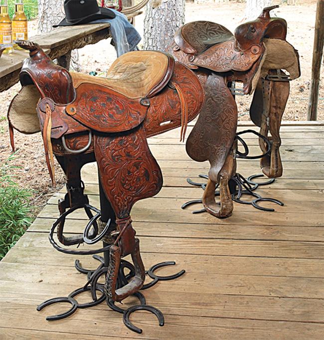 Saddle barstools