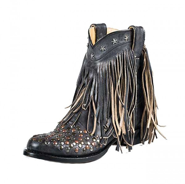 Stetson Lila Fringe and Star Boots
