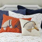 The Land of Nod Equestrian Bedding and Pillows
