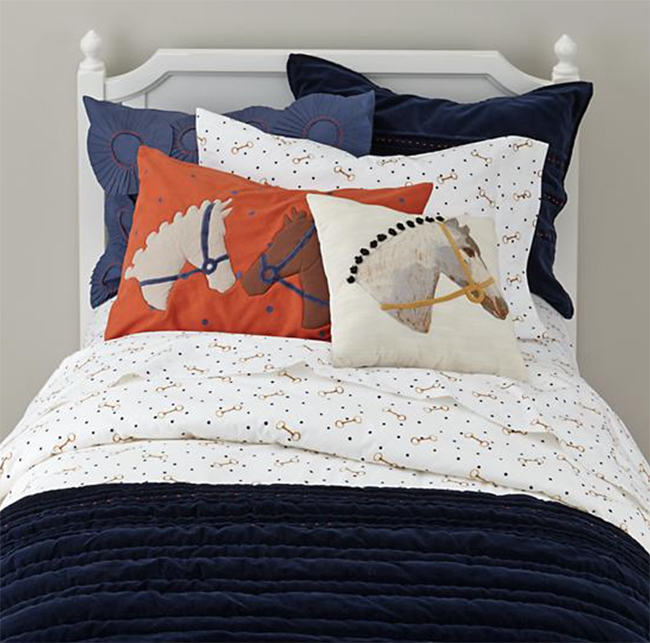 The Land of Nod Equestrian Bedding