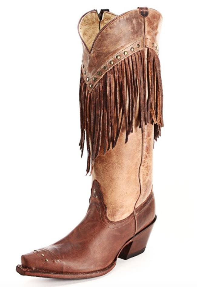 Tony Lama Vaquero Fringe Boots