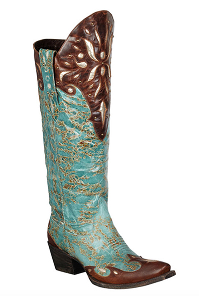 12 Pairs Of Turquoise Cowboy Boots Horses Amp Heels
