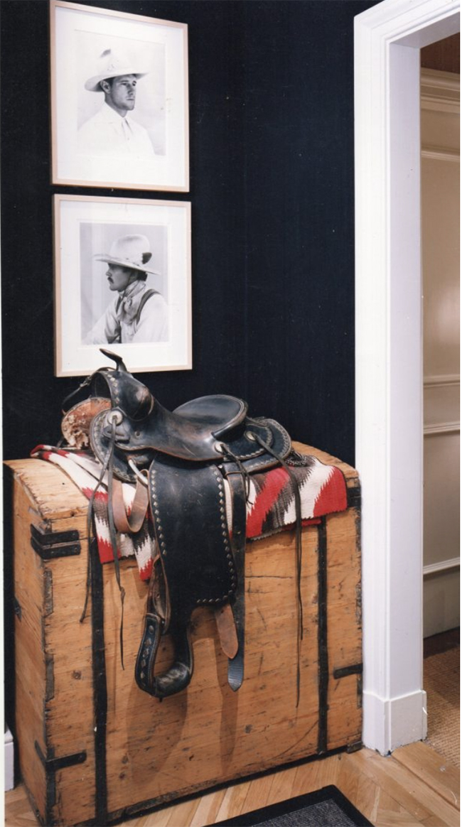 Vintage Western Saddle