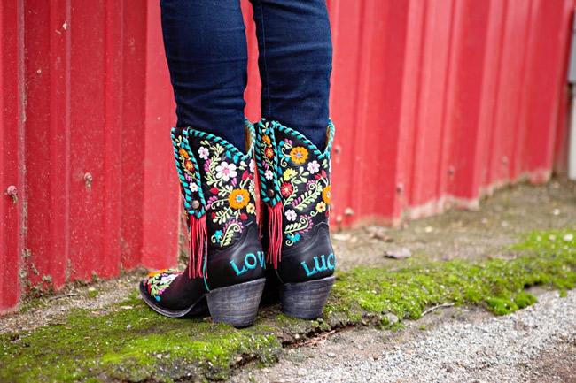Carmen Rodeo Quincy Cowboy Boots