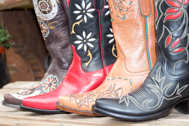 A fall cowboy boot collection