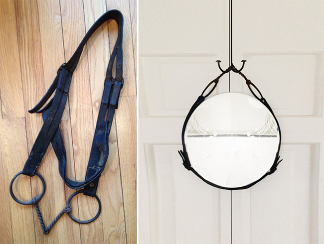 Leather Equestrian Mirrors