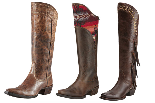 3 Pairs of Affordable Ariat Boots for Fall