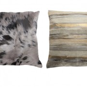 Cowhide pillows for the home
