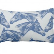 Equestrian Print Pillows by Bre Avery