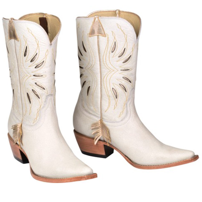 Golden Arrow Kacey for Lucchese Cowboy Boots
