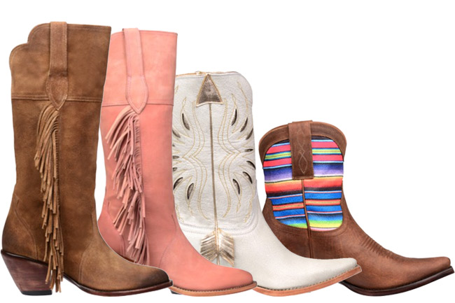 Kacey for Lucchese Cowboy Boot Collection
