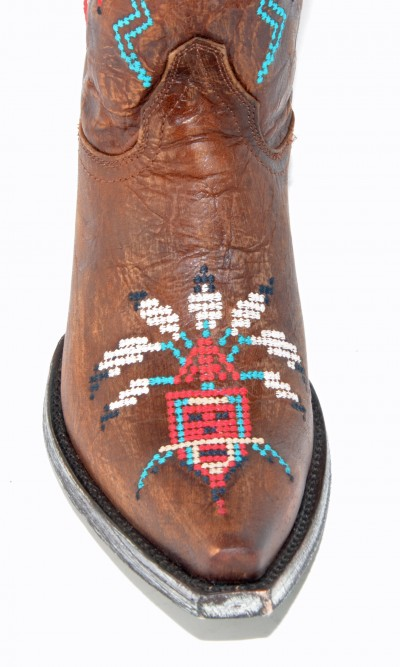 Old Gringo Sapache Boots in Brass