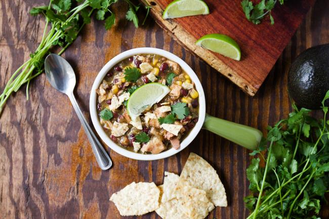 Crockpot Verde Chicken Chili