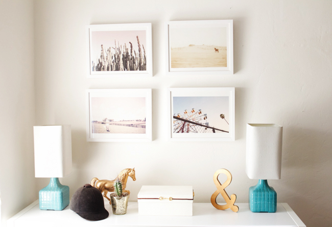 Minted Art Giveaway + My Minted Gallery Wall