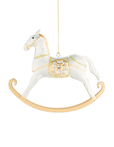 Chalet de Noel Rocking Horse Ornament