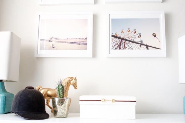 Soft minimalist equestrian details