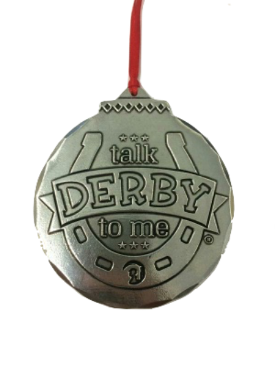 Talk Derby Ornament