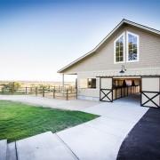 Pretty barn exterior
