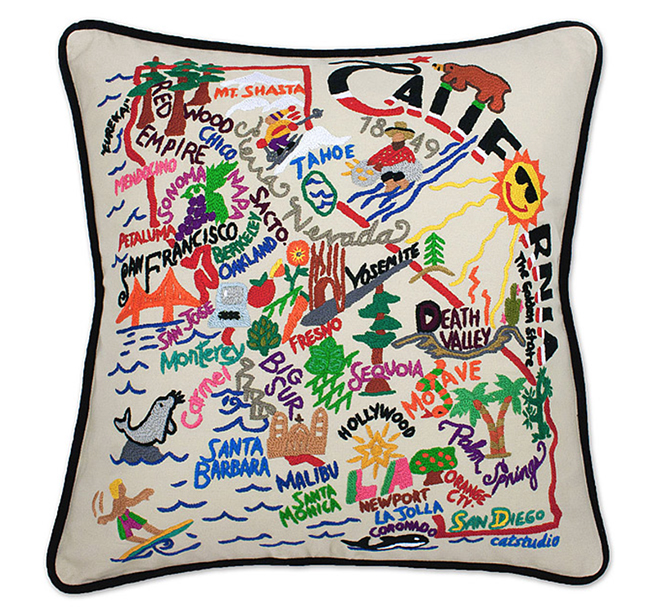State of California pillow