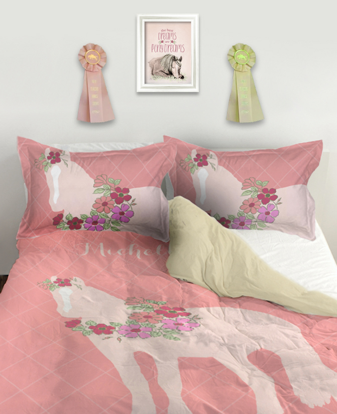 The Painting Pony Equestrian Duvet Bedding
